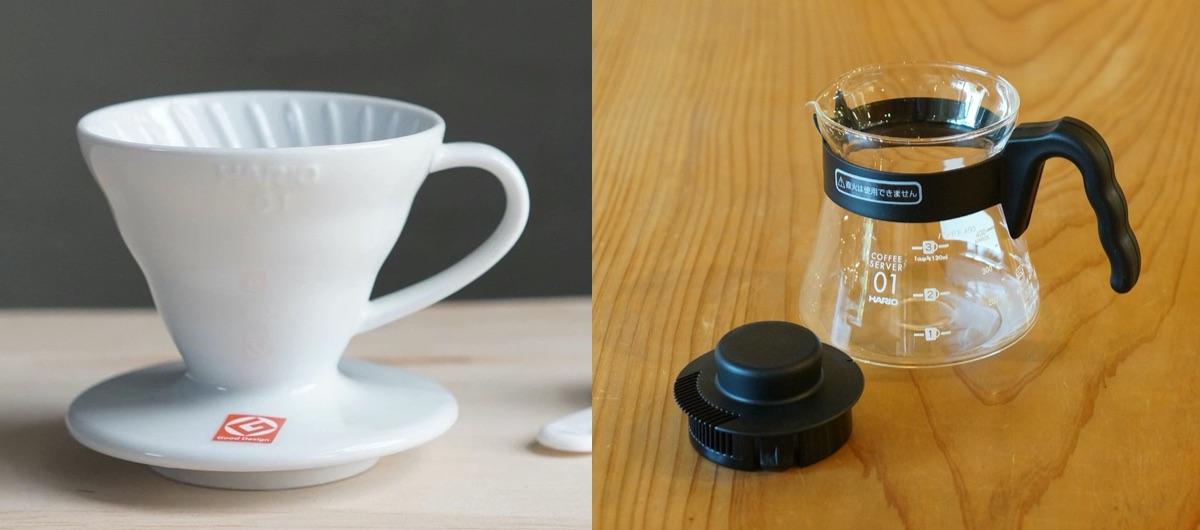 ハリオ セラミックドリッパー/コーヒーサーバー